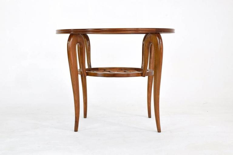 Italian Coffee Table Attributed to Poalo Buffa, 1950s  5