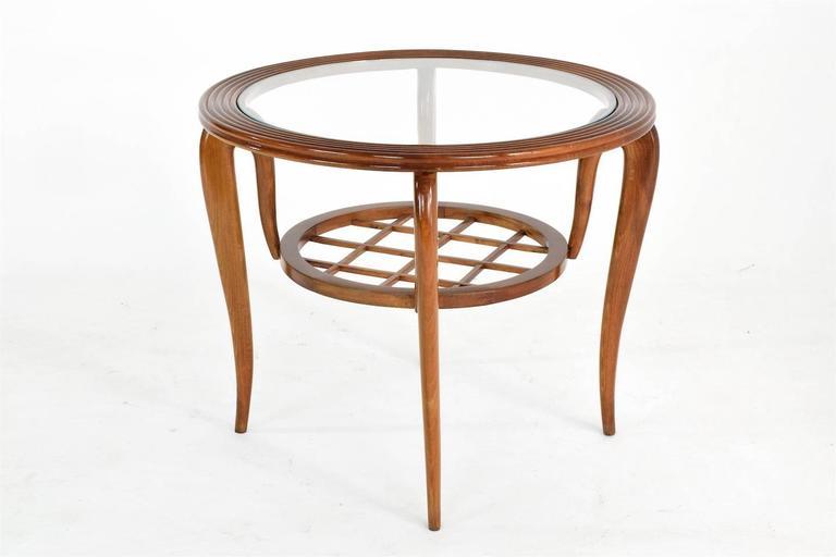 Italian Coffee Table Attributed to Poalo Buffa, 1950s  4