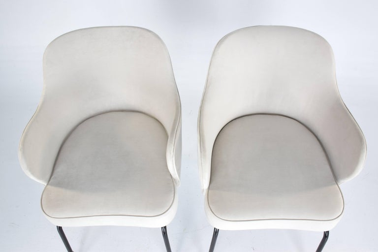 Italian Vintage Mid-Century Armchairs, Set of Two, 1950's  For Sale 5