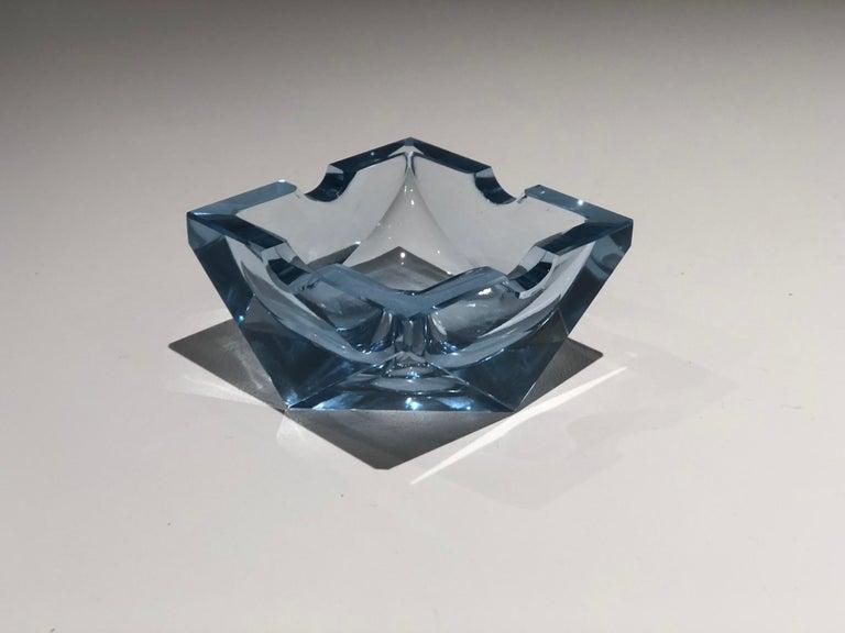 20th Century Vintage Art Deco Glass Ashtray, 1930-1940  For Sale 3
