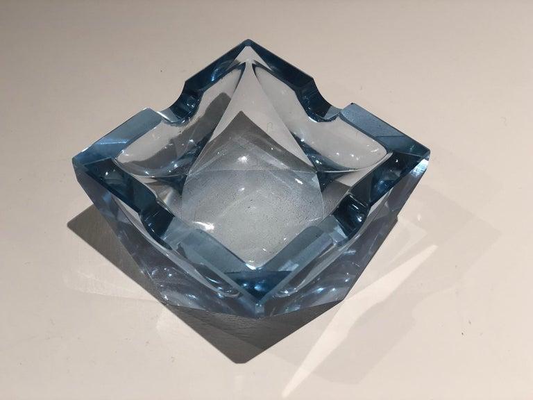 20th Century Vintage Art Deco Glass Ashtray, 1930-1940  For Sale 6