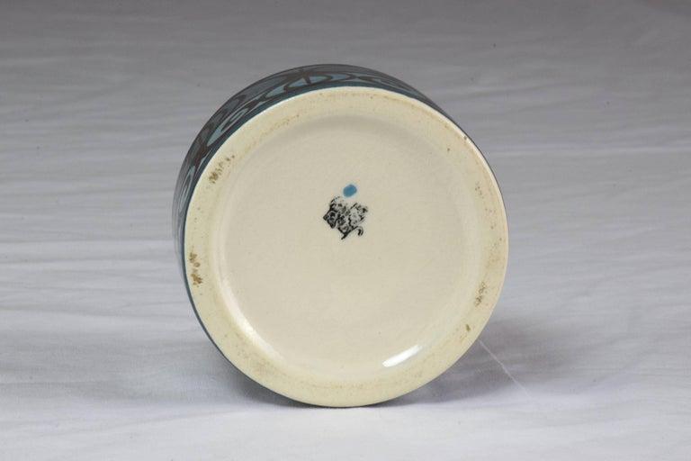Midcentury Vintage Ronson Ceramic Table Lighter For Sale 1
