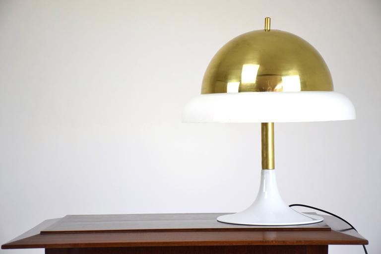 Mid-Century Modern Italian Table Lamp by Goffredo Reggiani, 1960's