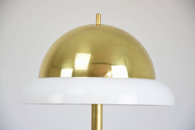 Enameled Italian Table Lamp by Goffredo Reggiani, 1960's