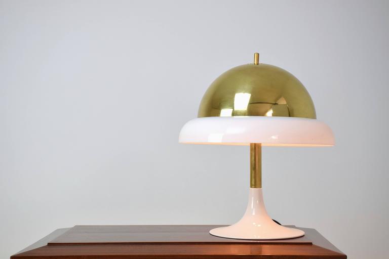 Brass Italian Table Lamp by Goffredo Reggiani, 1960's