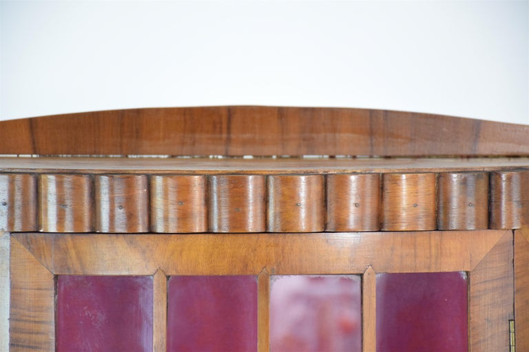 20t Century French Art Deco Circular Display Cabinet or Vitrine, 1930's  For Sale 5