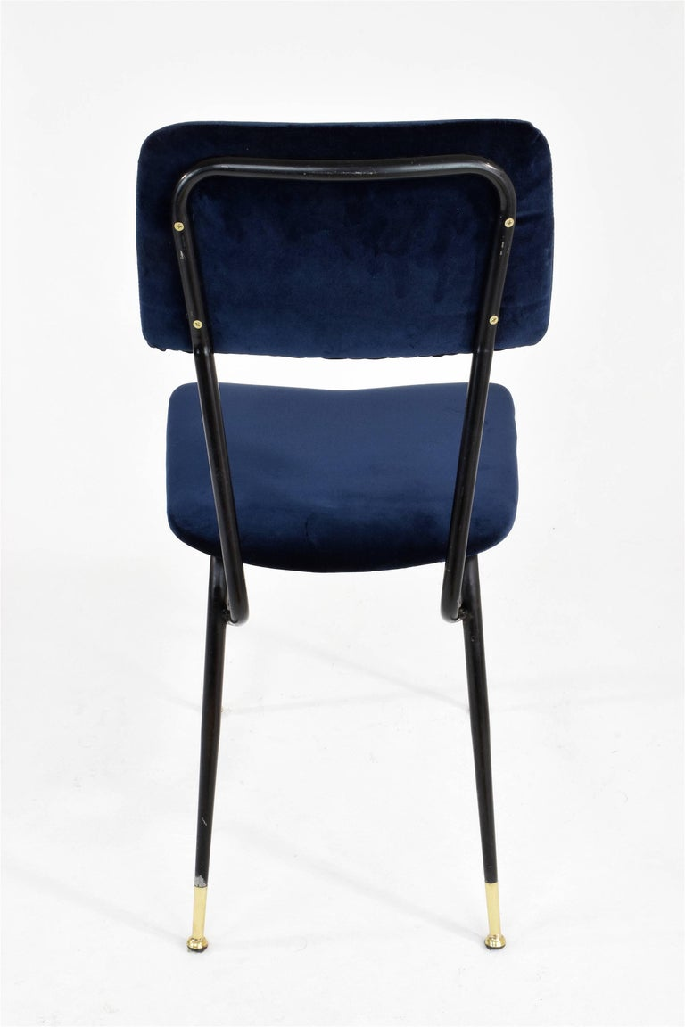 Italian Vintage Mid-Century Dining Chairs by Studio BBPR, 1950's, Set of 6  3