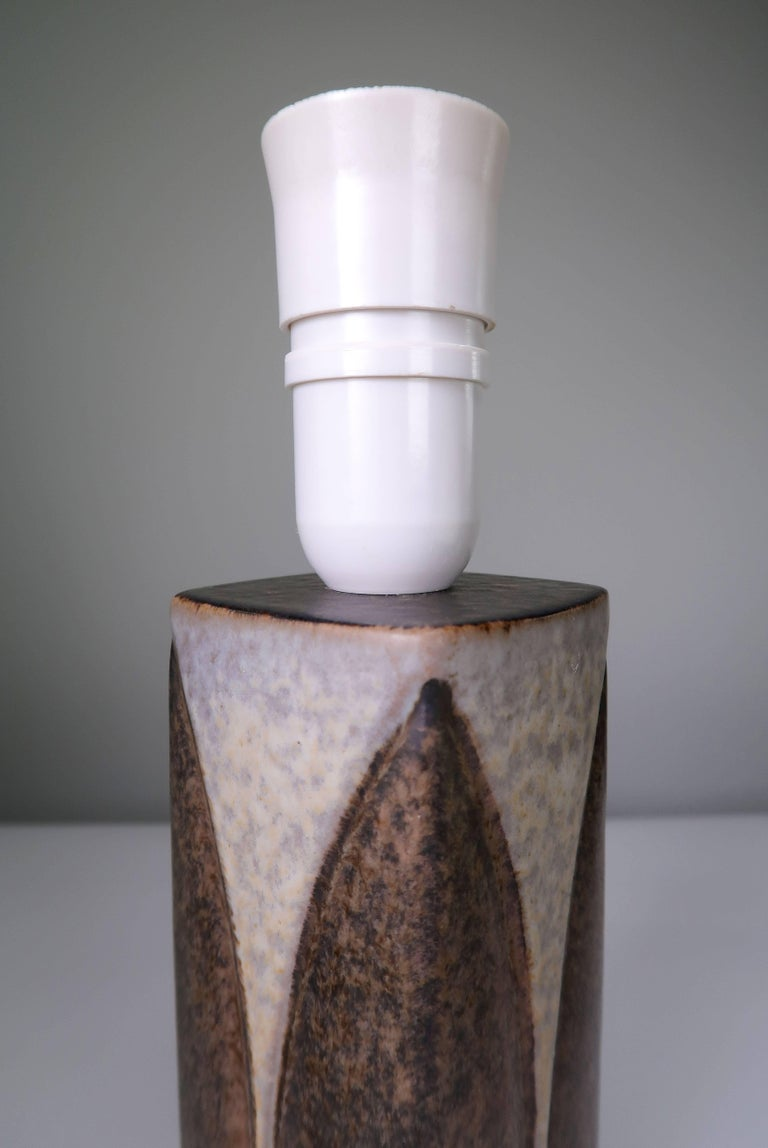 Mid-20th Century Marianne Starck for Michael Andersen Sculptural Set of Lamps and Vase, 1950s For Sale