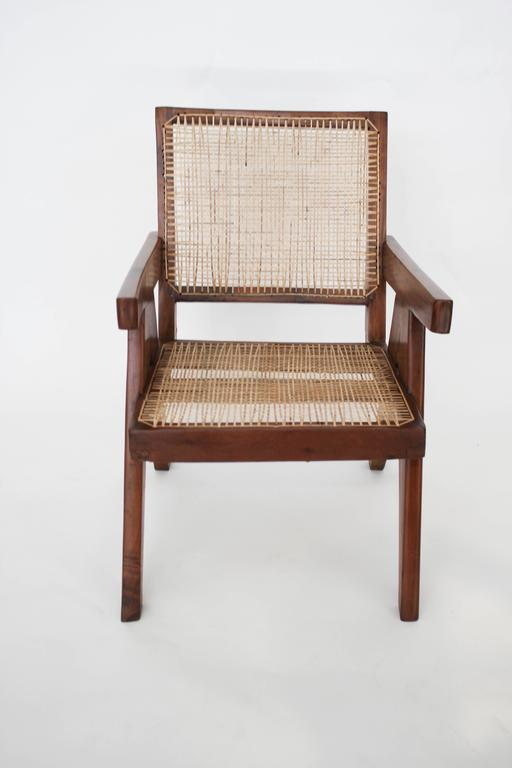 Easy Armchairs by Pierre Jeanneret, Set of Two, circa 1950s In Good Condition For Sale In London, GB