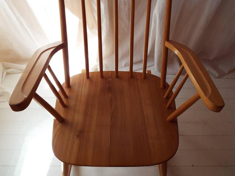 Midcentury Rocking Chair by Austrian Architect Roland Rainer with Beech frame 6