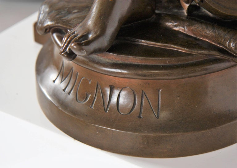 19th Century Eugène Aizelin Mignon In Excellent Condition For Sale In Mondorf les Bains, LU