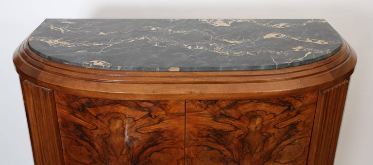 French Rare Pair of Art Deco Wall Furniture by Clement Goyeneche, 1893 -1984 For Sale