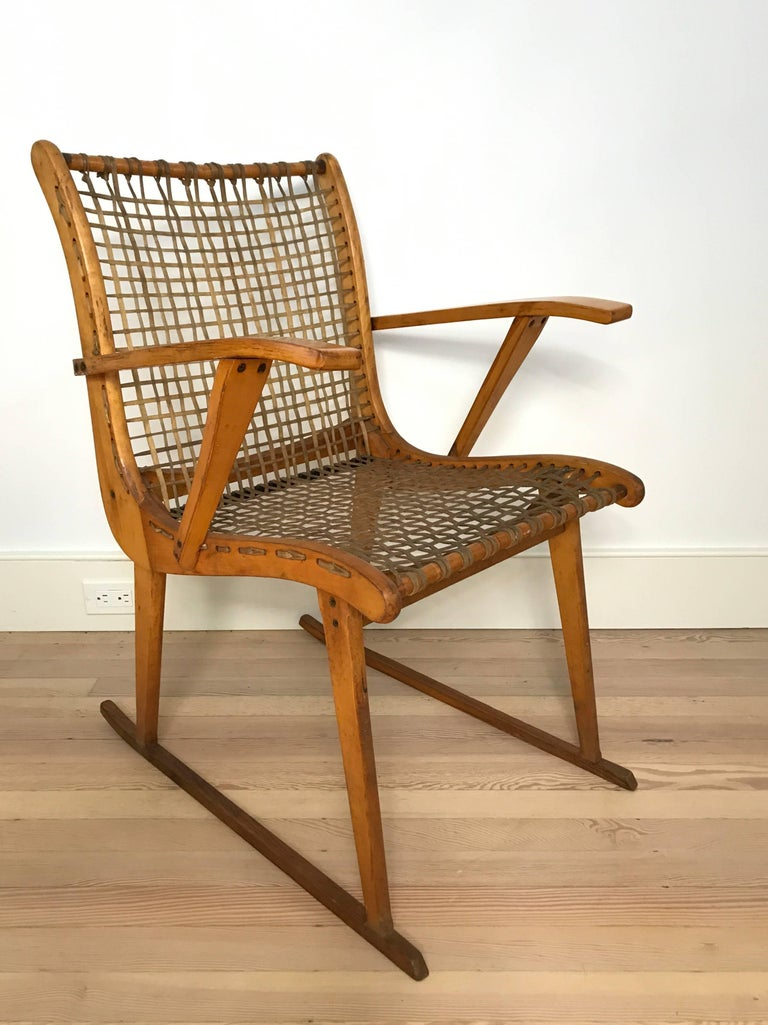 Adirondack Pair of Armchairs by Vermont Tubbs For Sale