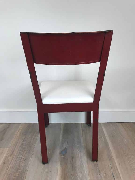Jean Prouvé and Jules Leleu Side Chair 6