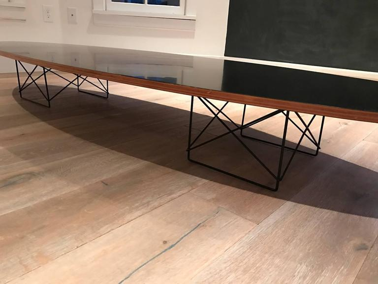 Eames Surfboard Cocktail Table With Elliptical Rod Base For Sale At 1stdibs