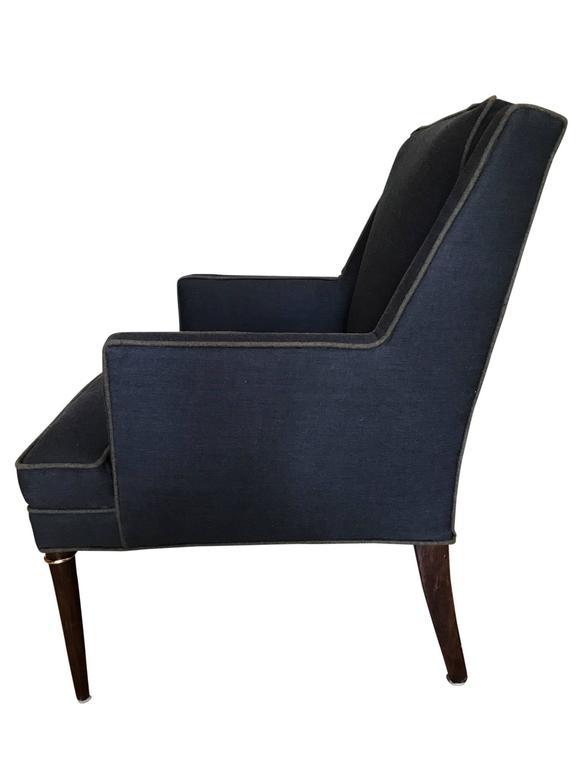 Mid-Century Modern Edward Wormley for Dunbar Armchair For Sale