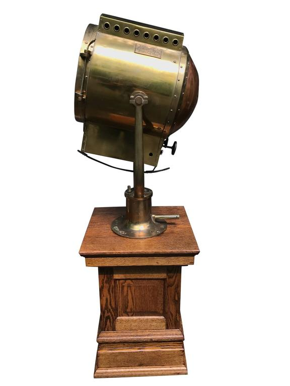 Massive Wwii Searchlight By Carlisle And Finch For Sale At