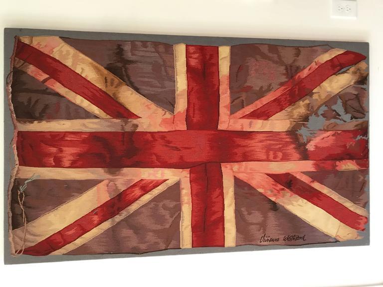 Limited Edition Vivienne Westwood Union Jack Aubusson