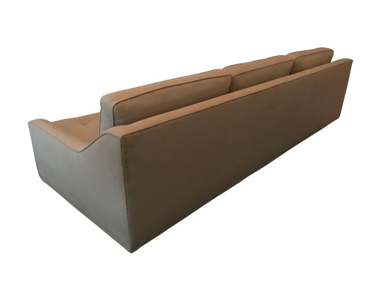 Mid-Century Modern Danish Sofa by Selig For Sale