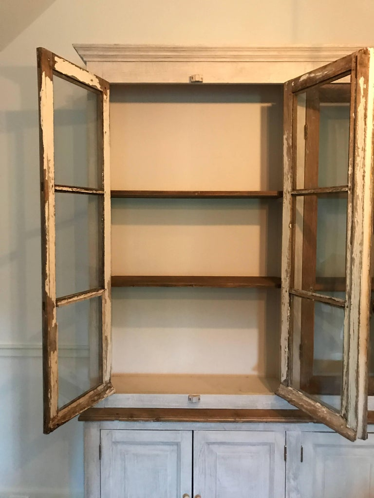 Large French Cabinet or Bookcase For Sale 1