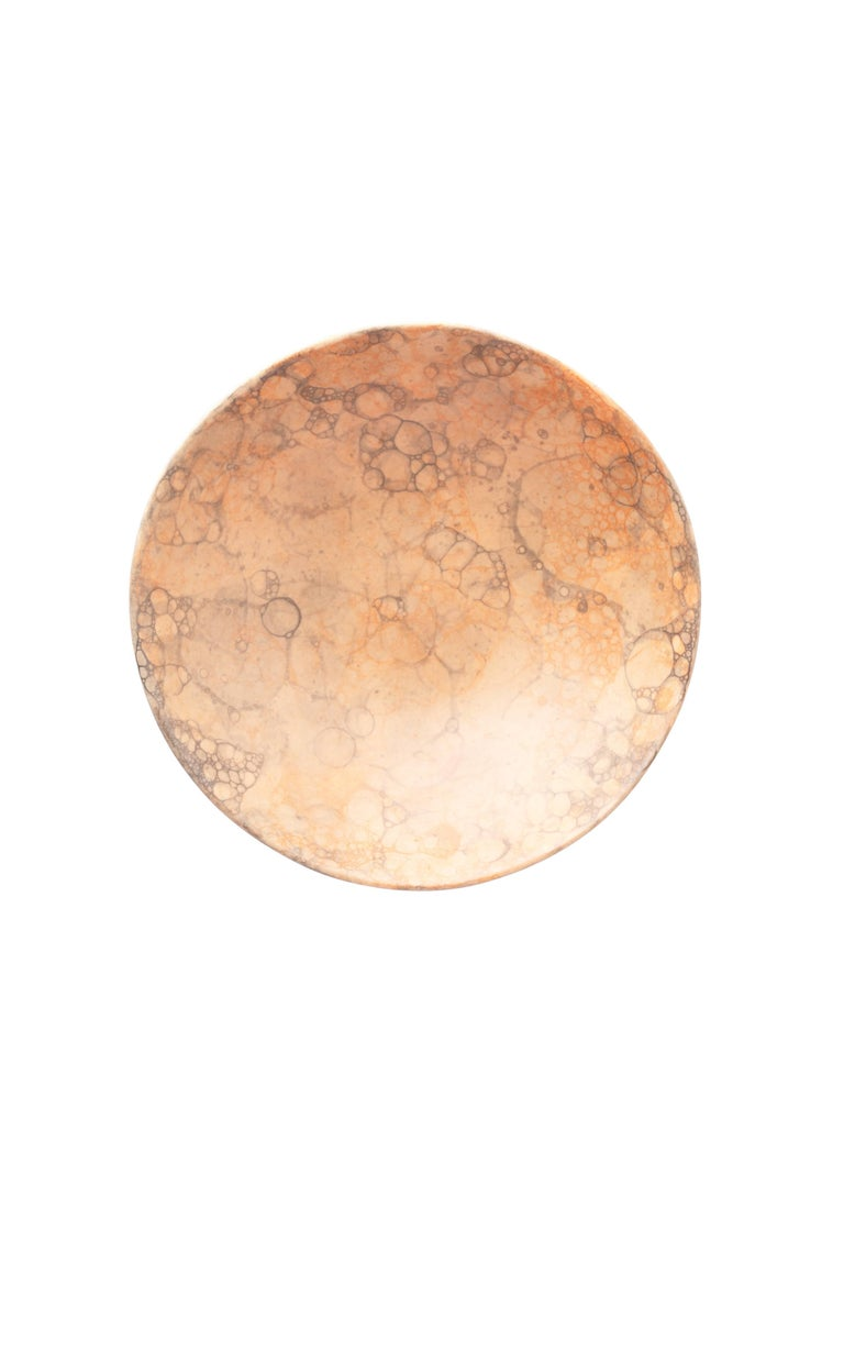 Orange Handmade Ceramic Mini Bowl, Set of Two 2