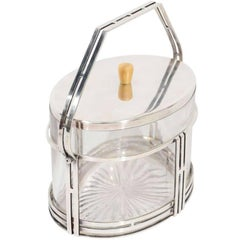 Art Deco Covered Ice Bucket or Container