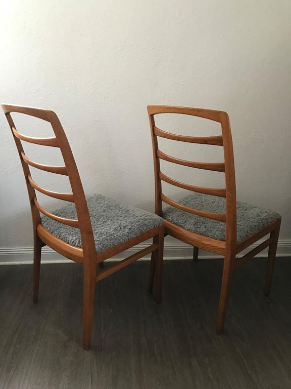 Scandinavian Modern 1957 Reno Oak Bodafors Swedish Designer Chairs Bertil  Fridhagen 12 Chairs For Sale