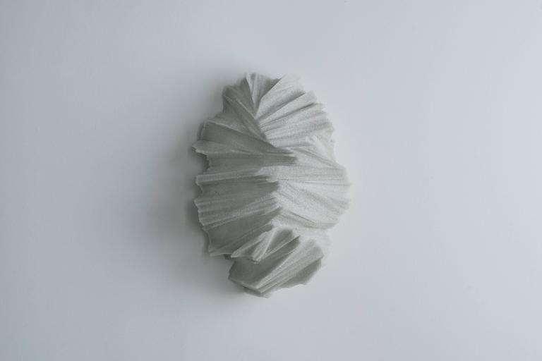Cast Thaw Sconces, Powdered Glass by Fernando Mastrangelo For Sale