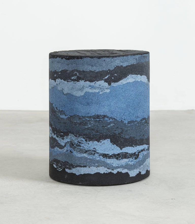 Strata Drum, Sand by Fernando Mastrangelo, 1stdibs New York In New Condition For Sale In Brooklyn, NY