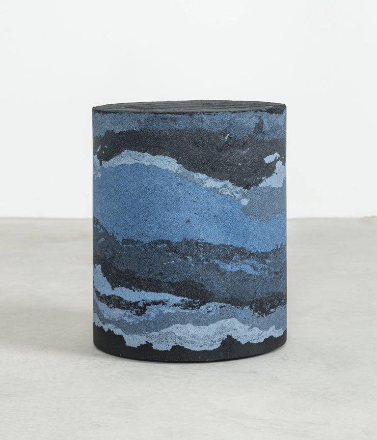 Contemporary Strata Drum, Sand by Fernando Mastrangelo, 1stdibs New York For Sale