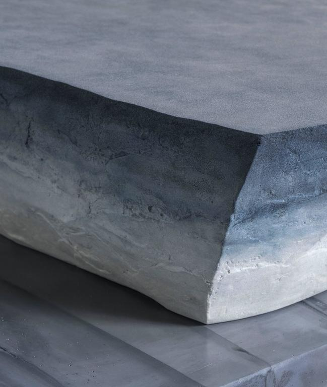 Drift Coffee Table, Sand and Cement by Fernando Mastrangelo For Sale 1