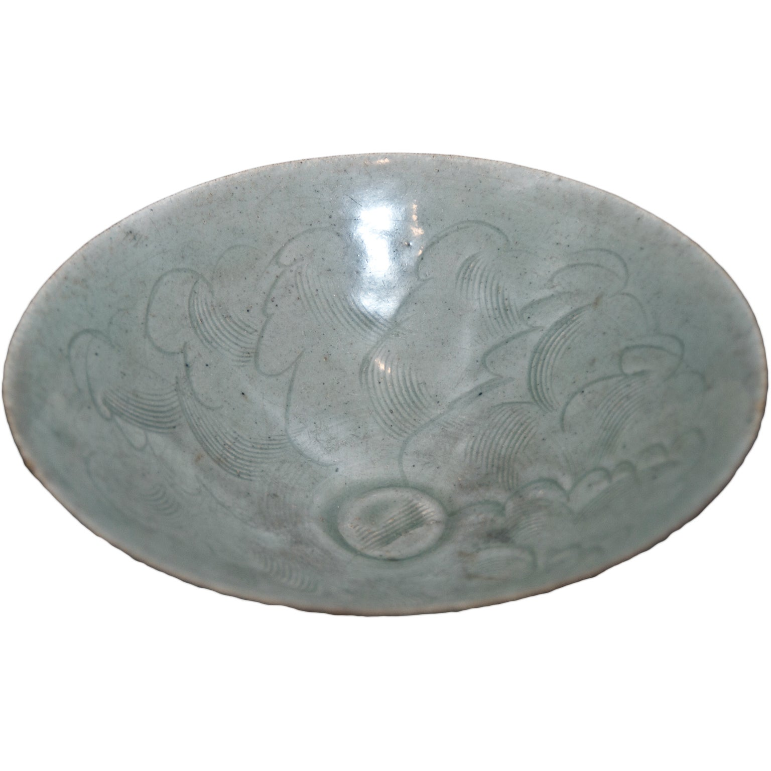 Little Circular Chinese Stoneware Bowl Sung 1 Period, 12th-14th Century