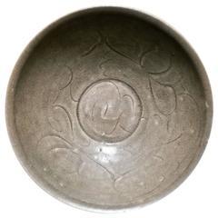 Stoneware Chinese Bowl, Sung Period, 12th-14th Century