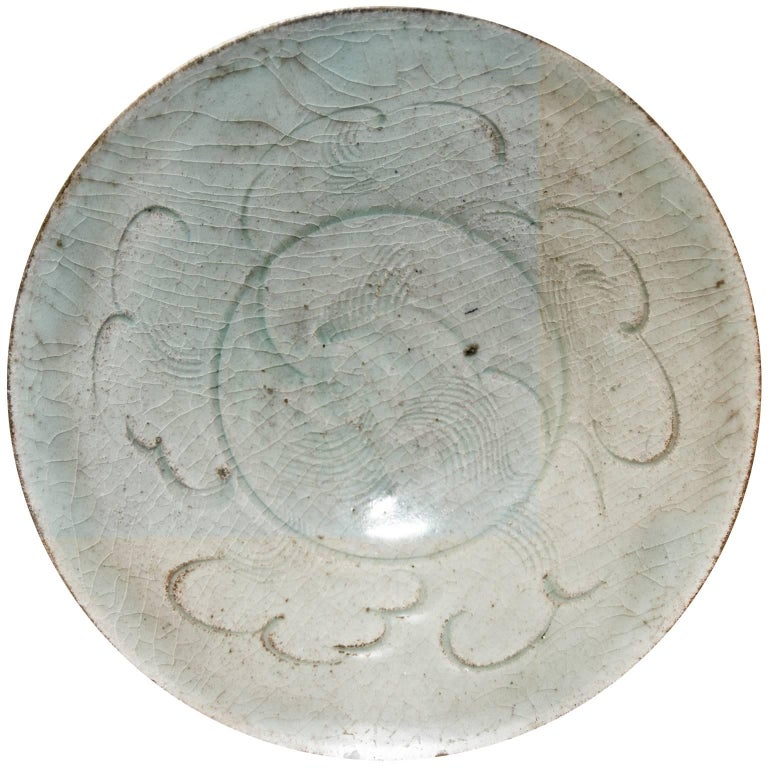 Stoneware Chinese Bowl, Sung Period, 12th-14th Century For Sale