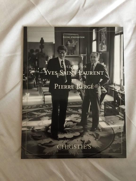 Complete Catalog Set of Yves Saint Laurent & Pierre Bergé Auction at Christie's 2