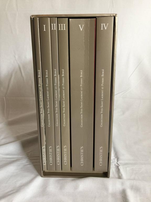 Complete Catalog Set of Yves Saint Laurent & Pierre Bergé Auction at Christie's 3