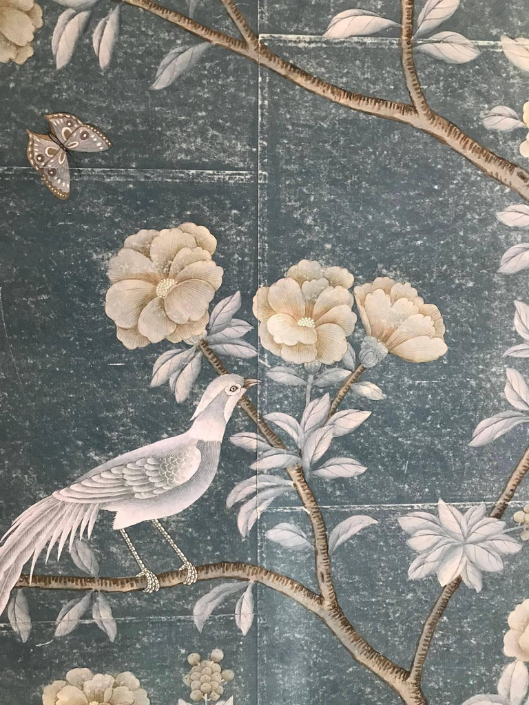 Framed Chinoiserie Panel For Sale 1