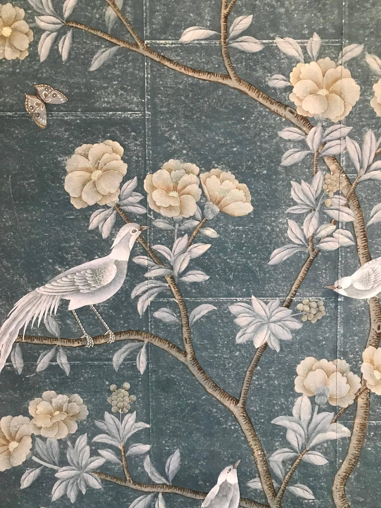 Unknown Framed Chinoiserie Panel For Sale