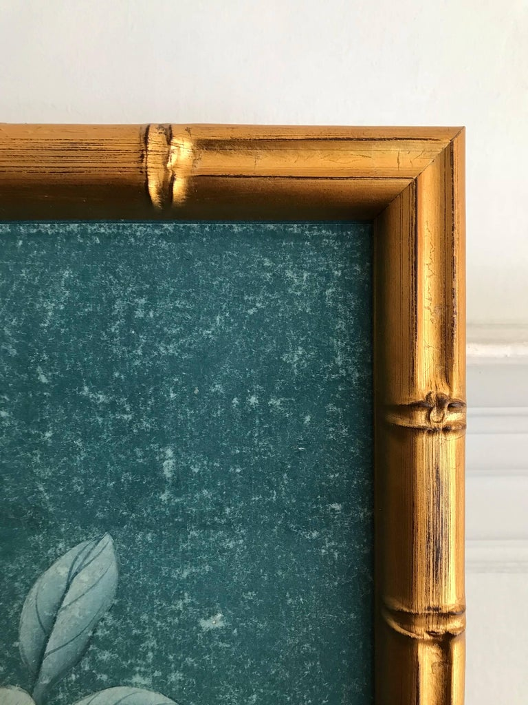 Contemporary Framed Chinoiserie Panel For Sale