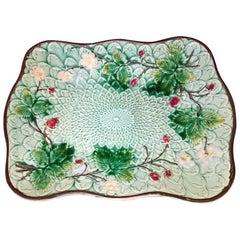Art Nouveau Villeroy & Boch Majolica Plate