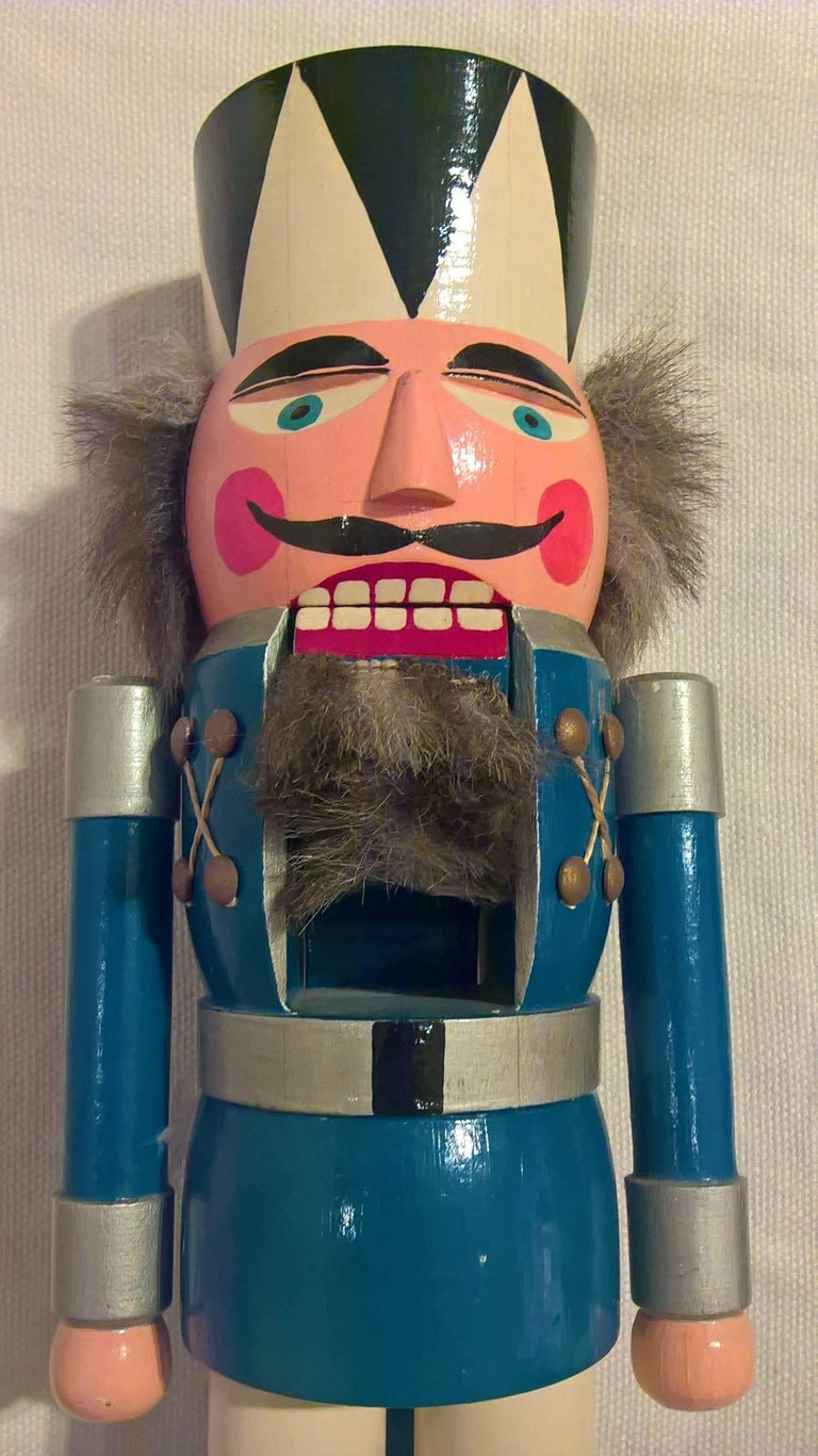 Vintage Christmas Nutcracker From Erzgebirge For Sale At