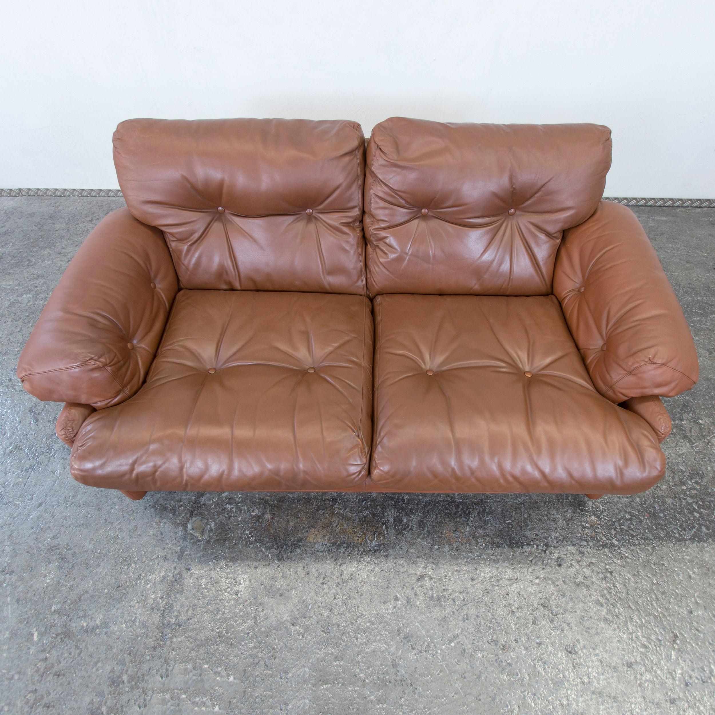 Schön Couch Braun Leder Referenz Von Finest Cub Italia Coronado Fine Leather Twoseat