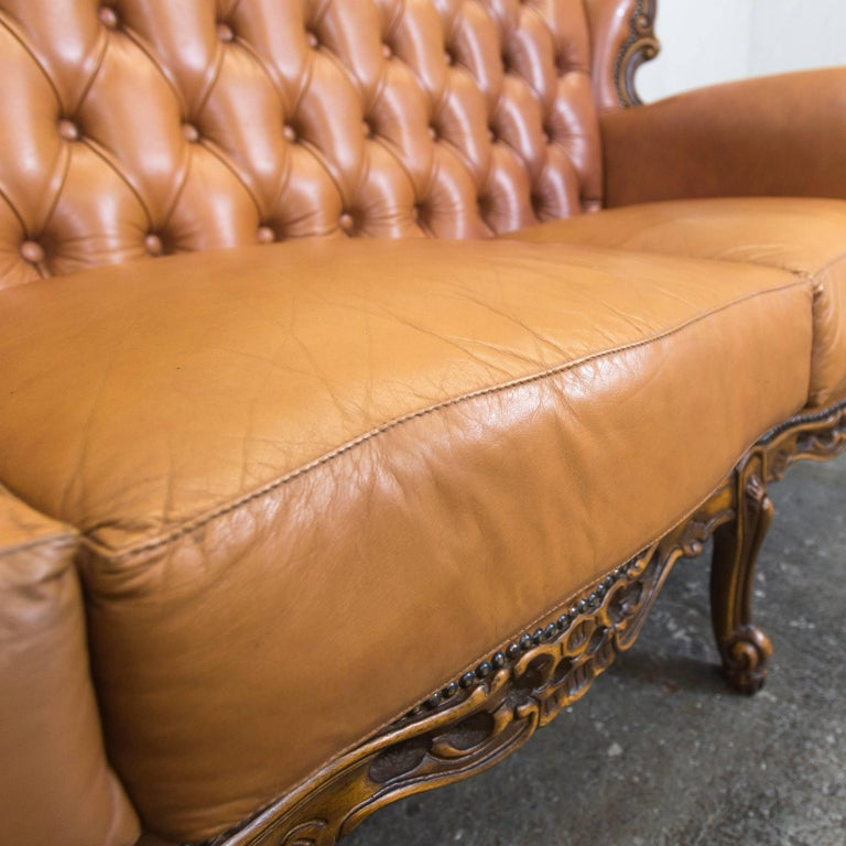 Chesterfield Sofa Leder. chesterfield sofa leder b rostuhl. leather ...