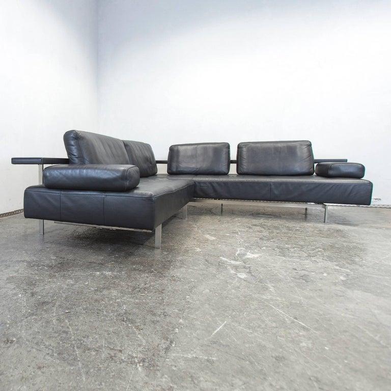 dono modular sofa rolf benz. German Rolf Benz Dono Designer Leather Corner Sofa Black Function Modern For Sale Modular