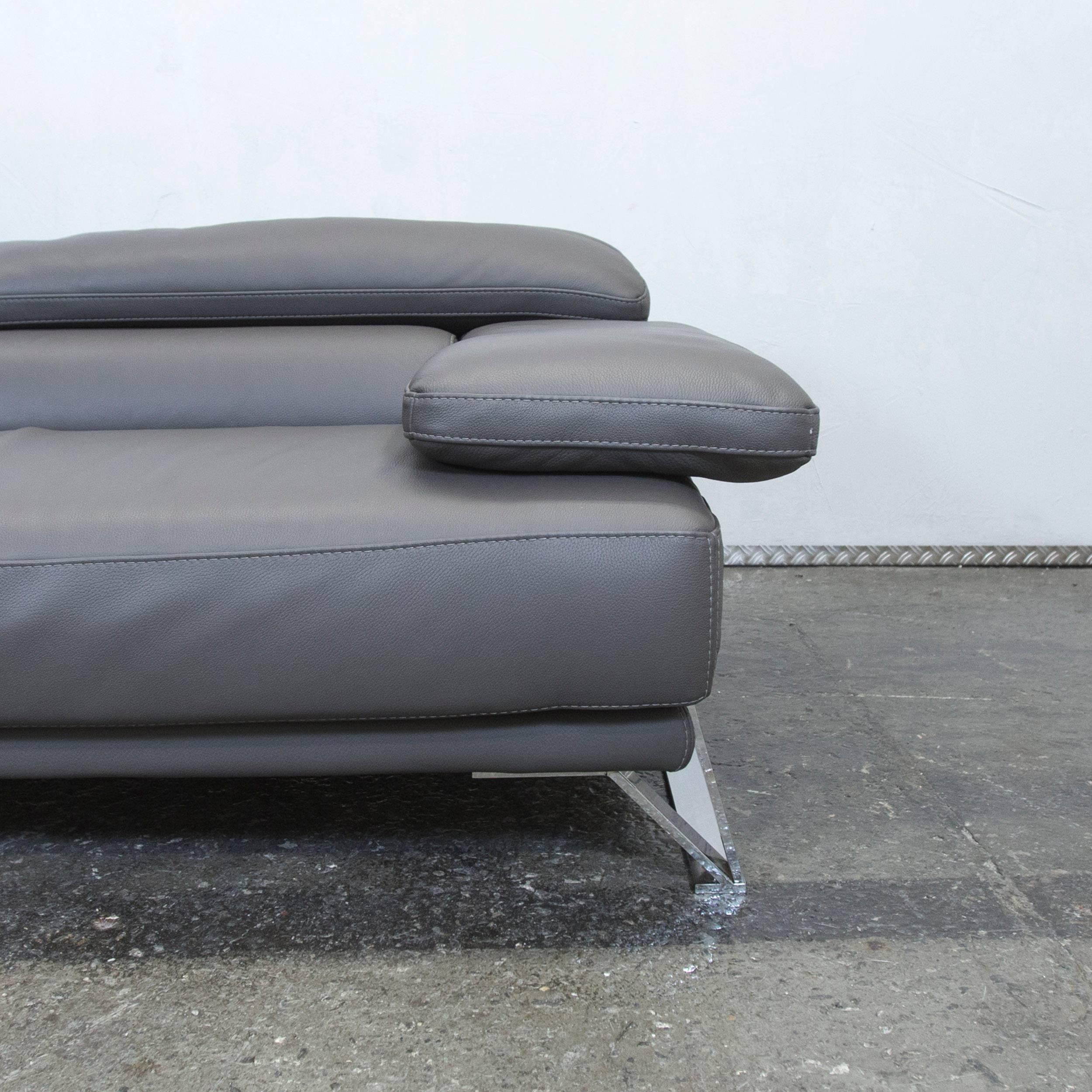Beeindruckend Sofaecke Grau Ideen Von Good Roche Bobois Designer Sofa Grey Leather