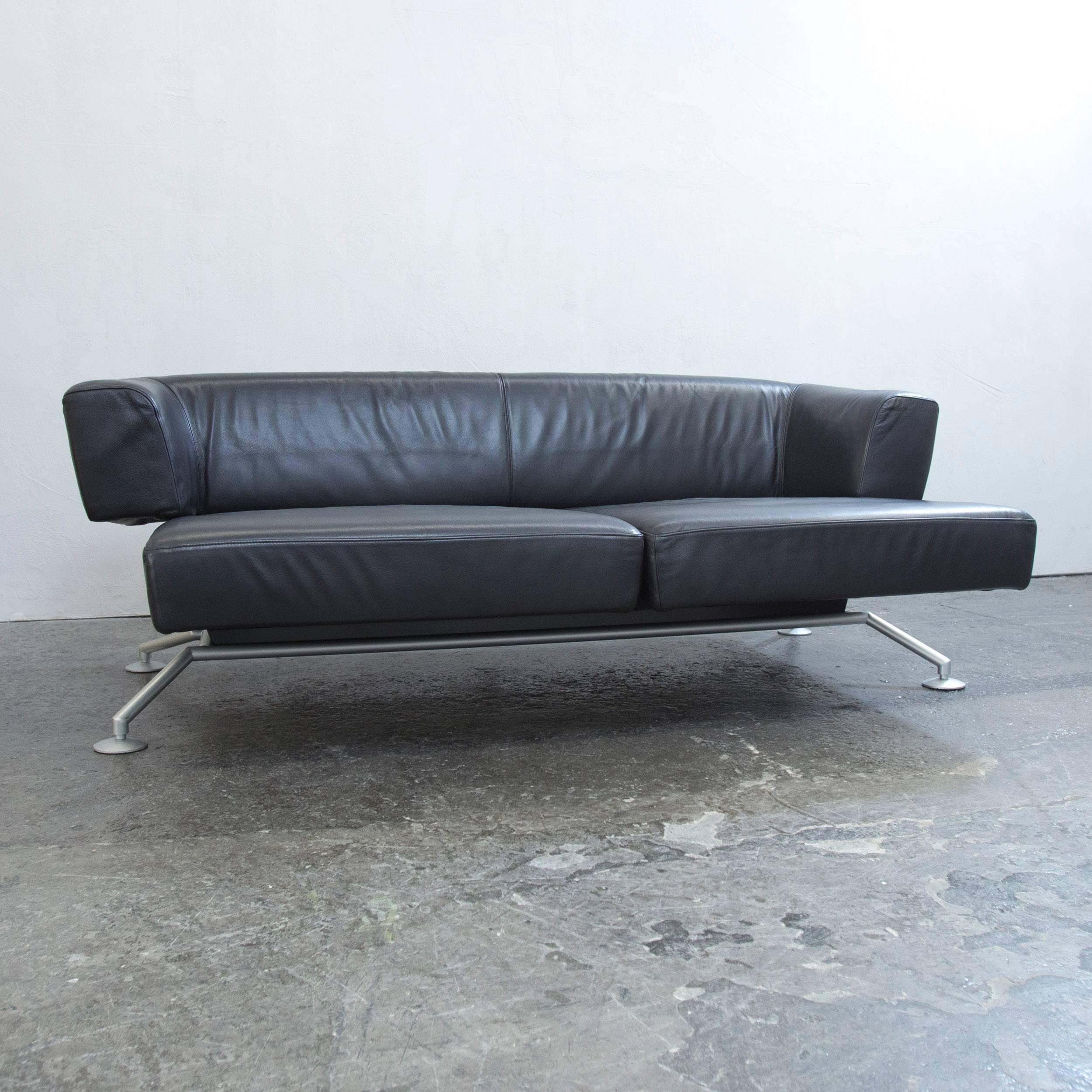 sofa schwarz leder awesome sofa echtleder schwarz design. Black Bedroom Furniture Sets. Home Design Ideas