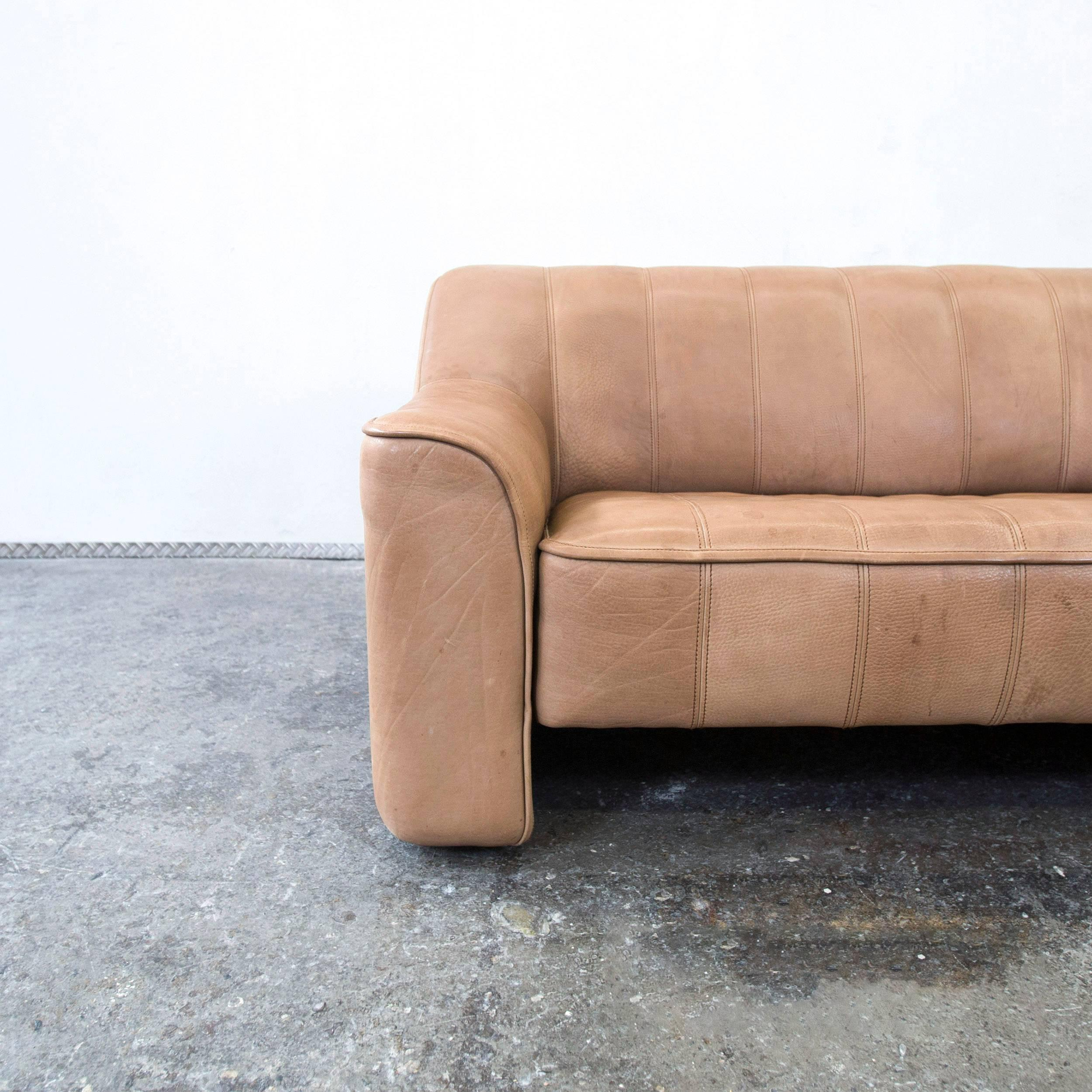 Finest Cool De Sede Ds Anilin Leather Sofa Brown Twoseat Couch Modern With  Couch Braun Beige With Sofa Beige Leder With Couch Beige Braun