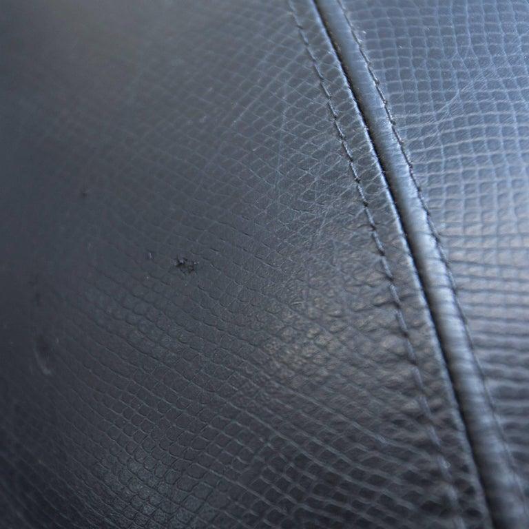 Modern klismos chair - Leolux Pallone Pa Designer Chair Black Beige One Seat