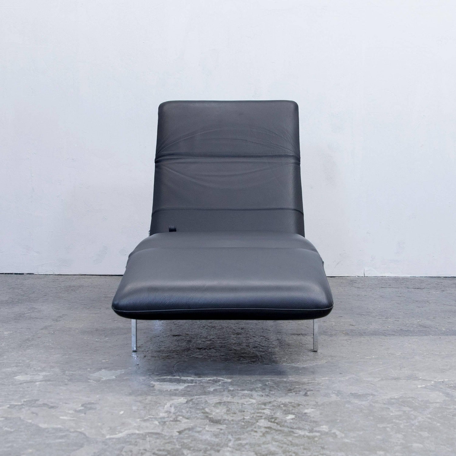 Recamiere Modern brühl and sippold roro designer chaise longue recamiere leather