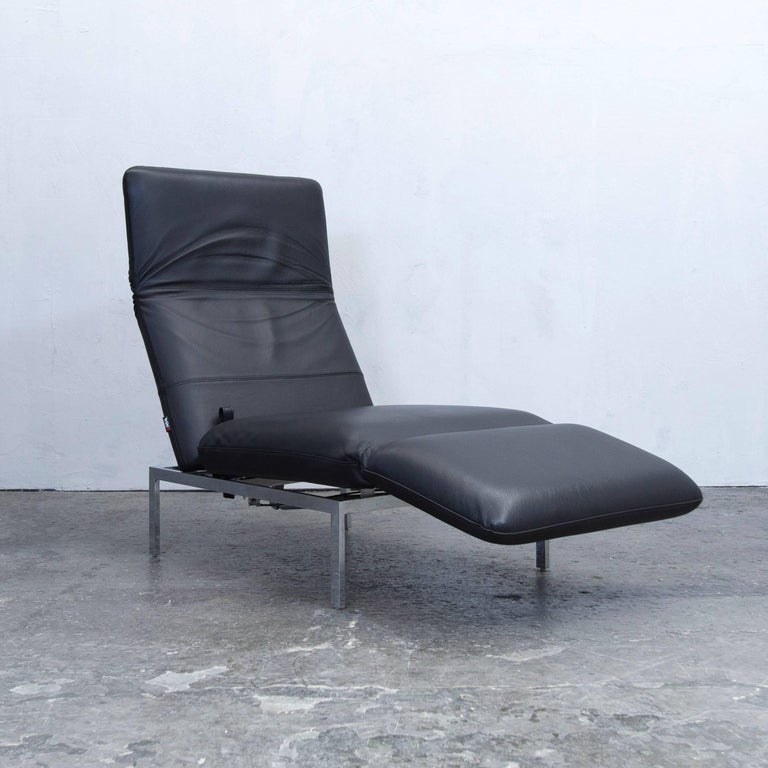 Recamiere chaiselongue  Brühl and Sippold Roro Designer Chaise Longue Recamiere Leather ...